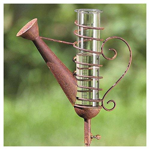Regenmesser , H 121 cm, Eisen, Edelrost, Einfarbig