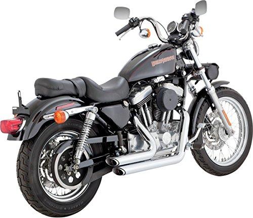 Vance & Hines Shortshots Staggered cromati per Harley Davidson Sportster 99-03