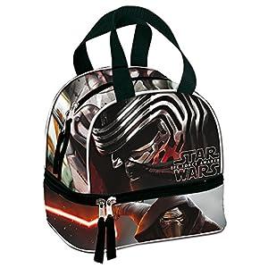 Star Wars- Disney Portameriendas, Color Negro, & ampUacutenica (CEFA Toys 52719)