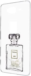 AQUOS ZETA SH-01H ケース ハードケース 【透明ケース:ミルク】 香水 アクオス ゼータ スマホケース 携帯カバー [FFANY] perfume-h190752