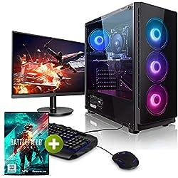 "Megaport Mega Pack AMD Ryzen 5 3600 6x 4.20GHz Turbo • GeForce RTX3070 8GB • Windows 10 • 1TB M.2 SSD • 16GB 3000 DDR4 • LED 27"" TFT • Tastiera/Mouse • Wifi • pc da gaming • pc gaming assemblato"