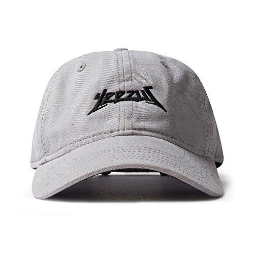 AA Apparel Yeezus Tour Glastonbury Dad Hat Kanye West Yeezy (Gray)