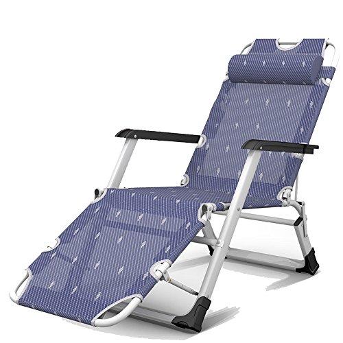 Xiaolin Chaise de Balcon Pliant Feuilles Personne multifonctionnelle Sieste Bureau Chaise de Bureau (Couleur : 01)