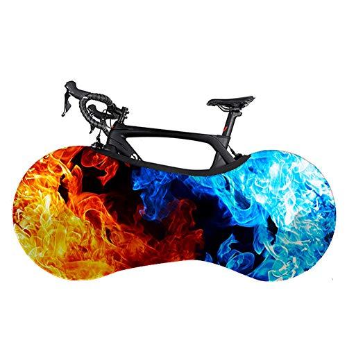 Xinzistar Fahrradabdeckung Wasserdicht Staubgeschützte Fahrradschutzhülle Abdeckung Fahrrad Schutzhülle Aufbewahrungstasche für Mountainbikes Falträder MTB Rennrad