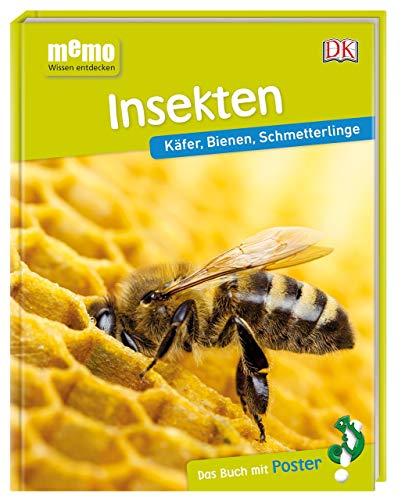 memo Wissen entdecken. Insekten: Käfer, Bienen, Schmetterlinge. Das Buch mit Poster!