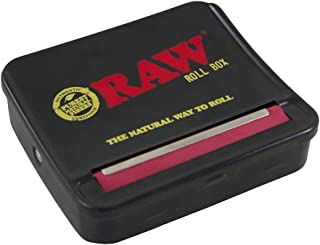 RAW Natural Unrefined Rolling Papers - Automatic Rolling Box - 70mm King Size