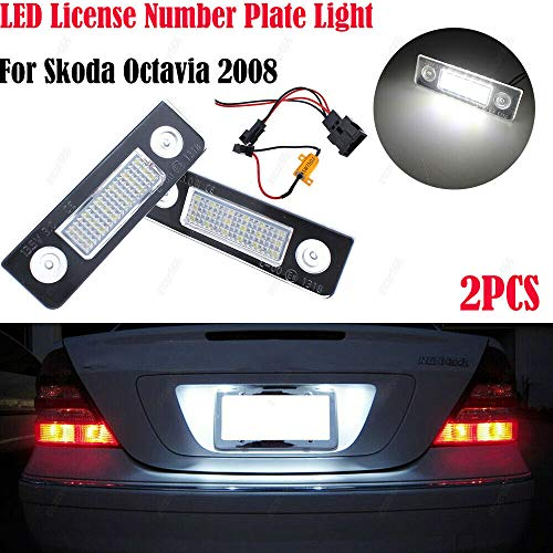 XZANTE Nombre License Plate LED Lampe Transporter T5 Caddy TOURAN