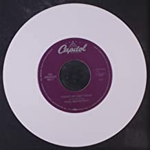 things we said today 45 rpm single