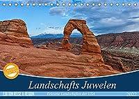 Landschafts Juwelen - Erlesene Landschaften der USA (Tischkalender 2022 DIN A5 quer): Entdecken Sie die unberuehrte und atemberaubende Landschaften des amerikanischen Suedwestens (Monatskalender, 14 Seiten )