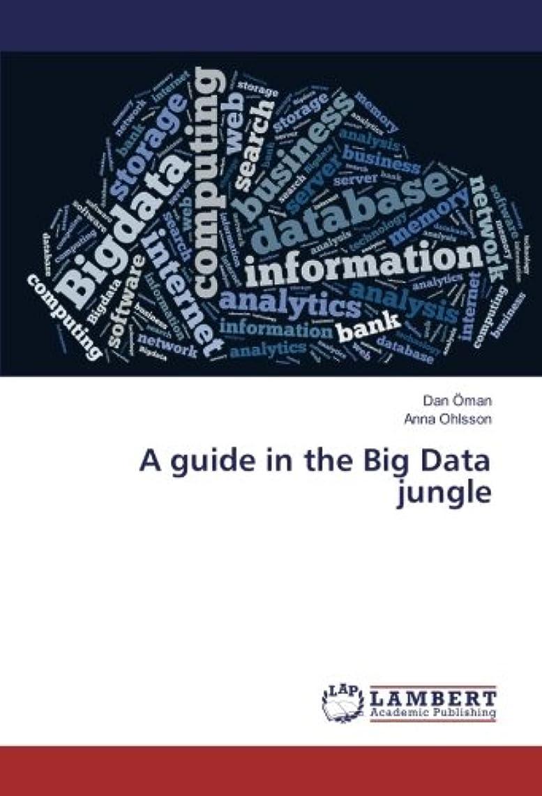 主人ラケットしたがってA guide in the Big Data jungle