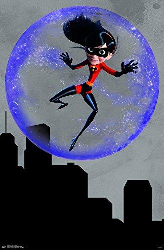 Trends International Disney Pixar The Incredibles 2 - Violet Wall Poster, 22.375' x 34', Unframed Version