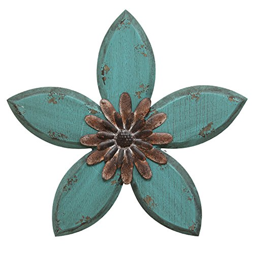 Stratton Home Decor SHD0165 Antique Flower Wall Decor