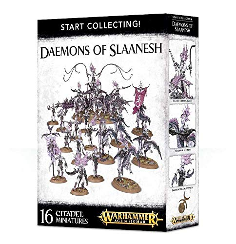 Games Workshop Start Collecting! Daemons of Slaanesh Warhammer Age of Sigmar