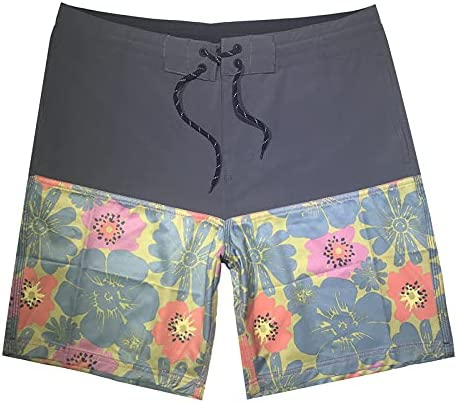 DFLYHLH Men's Swimwear Beach Board Shorts Quick-Drying Swimming Shorts Sports surf Shorts Swimming Shorts