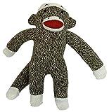 Multipet Plush Dog Toy, Sock Monkey
