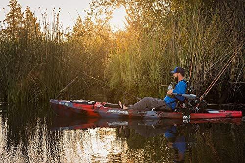 Kayak with 5-speed control Trolling Motor