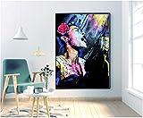 NVRENHUA Billie Holiday Music Star Poster Wanddekoration