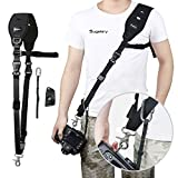 Camera Strap, Sugelary Quick Release Camera Shoulder Neck Strap for Canon Nikon Sony DSLR SLR Mirrorless Camera