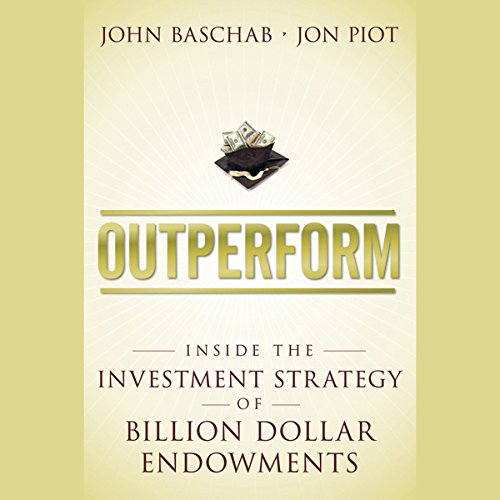 Outperform audiobook cover art