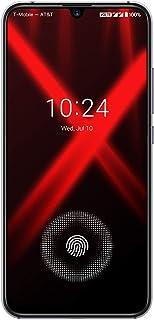 UMIDIGI X スマートフォンHelio P60オクタコア ディスプレイSIMフリー 6.35インチ HD+大画面 有機EL AMOLEDディスプレイ4150mAh大容量バッテリー 18W高速充電 4GB RAM + 128GB ROM Android 9.0 指紋認証 顔認証 技適認証済み AUキャリア不可 ブラック