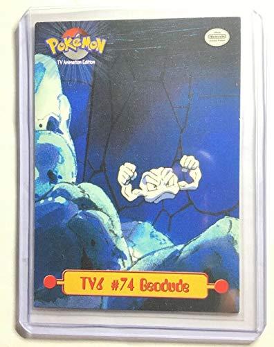 Pokemon Card - #74 Geodude TV6 - Topps