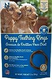 N-Bone Puppy Teething Rings Peanut Butter - 6pk