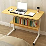 Einstellbare Lap-Tabelle Tragbarer Laptop Mobile Computer Stand Desk 60 X 40 cm Cart Tray...