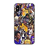 iPhone Xs Case, iPhone X Cases for Men Boys,Funny Basketball Pattern Design Printing Shockproof Anti-Scratch Case for Apple iPhone X/Xs 5.8 inch (Kobe 9)