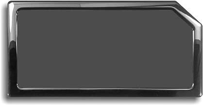 DEMCiflex Dust Filter for Corsair Obsidian 750D, Bottom, Black Frame, Black Mesh