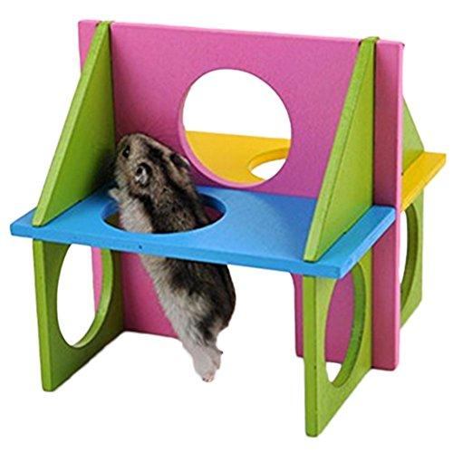 Da.Wa Plato volador para hámster, juguetes y accesorios para pequeños animales de hámster