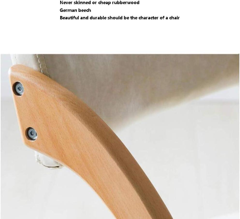 tabouret WFF en Bois Massif Chaise Pliante Accueil Retour Chaise Chaise Pliante à Manger Ordinateur de Bureau Simple Simple Portable (Color : D) D