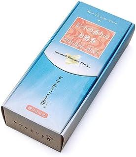 家庭用線香 ダブルミント香(箱寸法14.5×6.3×3.4cm)◆爽やかな「ミントの香りのお線香」(梅栄堂)