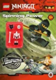 LEGO Ninjago: Spinning Power Activity Book with Minifigure by Unknown (2011) Paperback