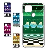 Google Pixel4a 5G 専用 スマホケース ハードケース カバー 80's ヴェイパーウェイヴ 404 【デザインD】 TK-638D グーグル ピクセル フォー エー ファイブジー