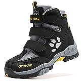 Bambini Antiscivolo Traspirante Scarpe da Escursionismo Stivali da Neve Scarpe da Trekking Unisex Bambino
