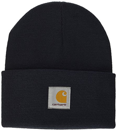 Carhartt Unisex Acrylic Watch Hat Fedora, Blau (NAVY), One size