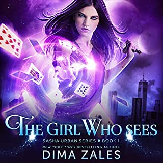 The Girl Who Sees  audiobook cover art
