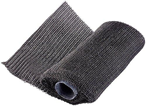 AGT Auspuff Reparaturband: Ultrafestes Fiberglas-Gewebe-Fixier- & Reparatur-Band (10 x 125 cm) (2 Komponenten Kleber)