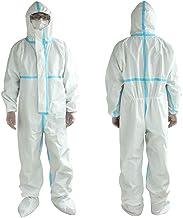Gaga city Blouse Protection Jetable 10pcs Combinaison Anti-poussi/ère V/êtements de Protection V/êtements de Travail