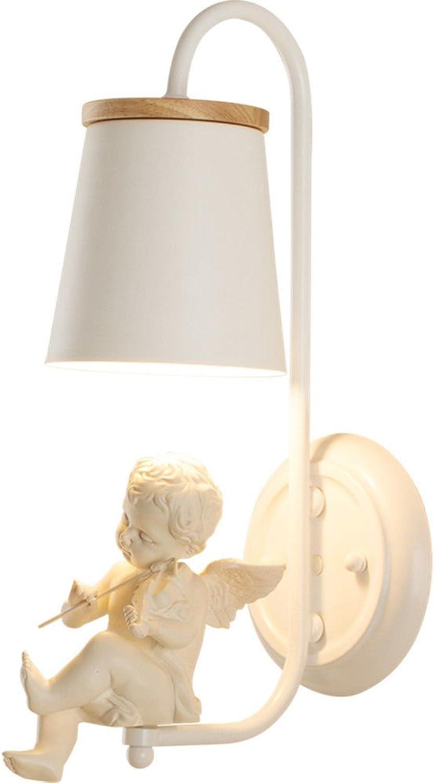 Nordic schlafzimmer wandleuchte gang einfache moderne kreative lampe kinderzimmer wohnzimmer treppe hochzeitsraum nachttischlampeWandlampe