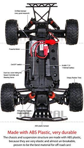 RC Auto kaufen Short Course Truck Bild 5: 1 18 Elektro 2 4GHz Off Road RC ferngesteuerter Short Course Pickup Truck Buggy,4WD, Digital vollproportionale Steuerung Top Speed bis zu 35 km h, Komplett Set RTR*