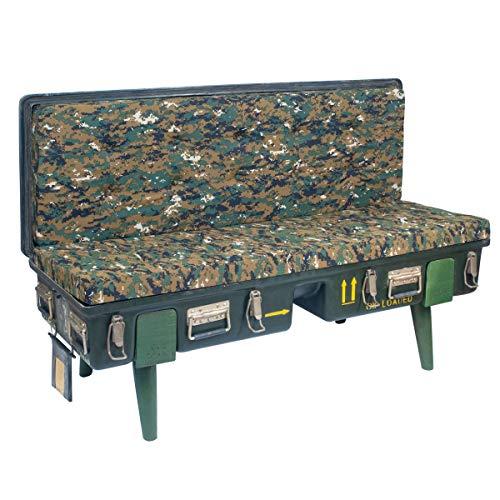 SIGRIS Decor and Go Möbel – Sofa Camoulage Möbel Hilfsmöbel Industrielle Kollektion DG19553