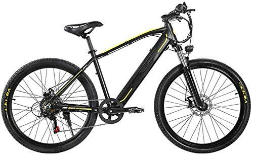 Bicicletas Eléctricas, Montaña bicicleta eléctrica, 26 pulgadas de viaje for adultos frontal de la batería de litio bicicleta eléctrica 350W sin escobillas del motor 48V 10Ah extraíble Disco de freno