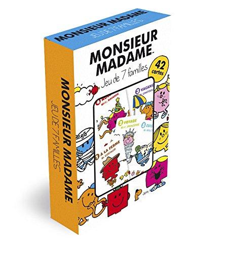 Monsieur Madame - Jeu de 7 Familles - 404544