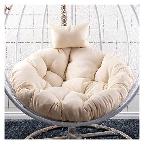Home Decoration Swing Chair Cushion Patio Swing Chair Cushion for Outside Thicken Hanging Egg Hammock Chair Cushion Soft Papasan Chair Cushion Pad Without Stand For Outdoor Garden Hanging Basket Furni