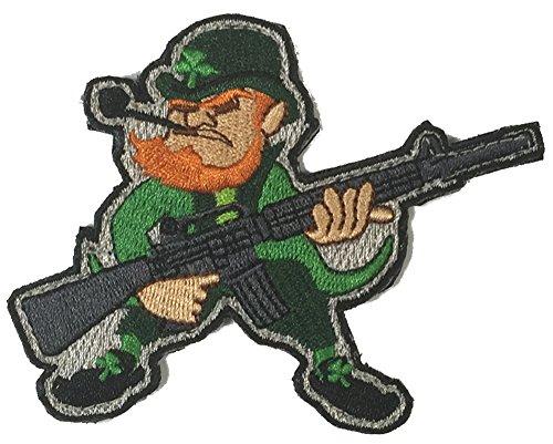 Evil Leprechaun AR-15 Tactical Morale Patch - Color