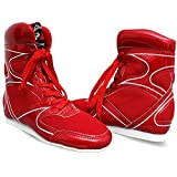 Spall Pro Boxing Shoes (Red, Numeric_5)
