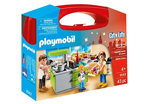 Playmobil 9543 City Life Collectable Family Kitchen Carry Case Spielzeug