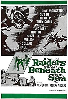 Raiders From Beneath The Sea - 1964 - Movie Poster Magnet