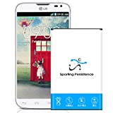 Sporting Persistence 2960mAh Extended Slim Battery for LG Optimus L70 BL-52UH D321 MS323 Phone